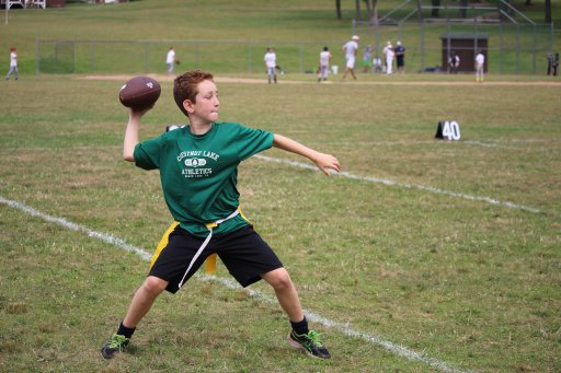 Football at Chestnut Lake Camp