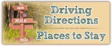 Driving Directions and Places to Stay near camp