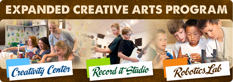 Expanded Creative Arts Program!
